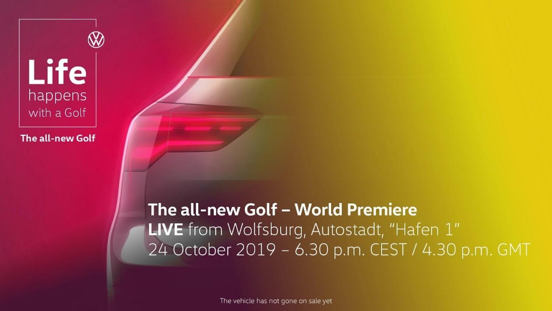 Следете ја премиерата на новиот VW Golf во живо на ДодајГас!