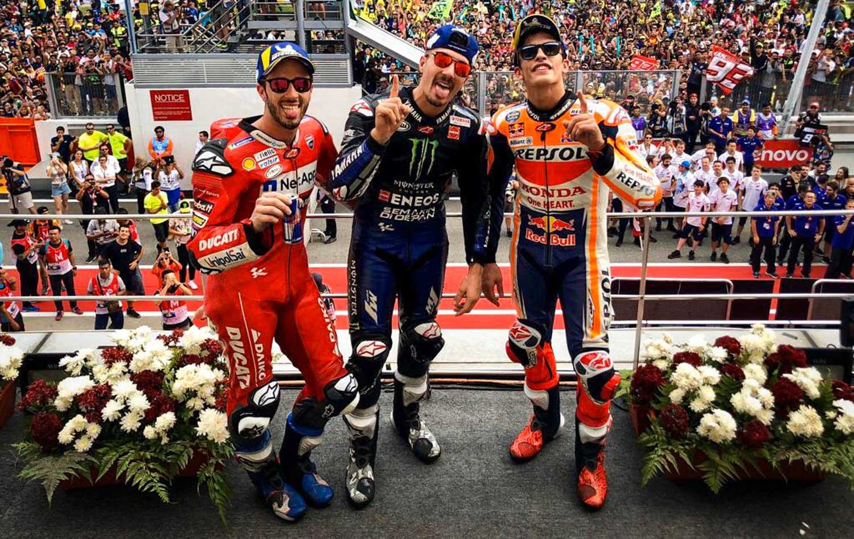 MotoGP: Вињалес како по учебник до победата во Сепанг