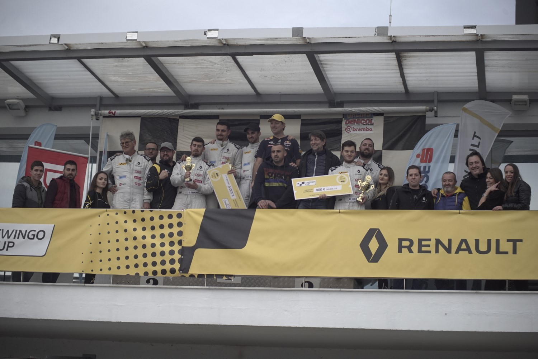 Renault Twingo Cup: Титулата за Делев, Трајковски и Малинковски победници во Серес