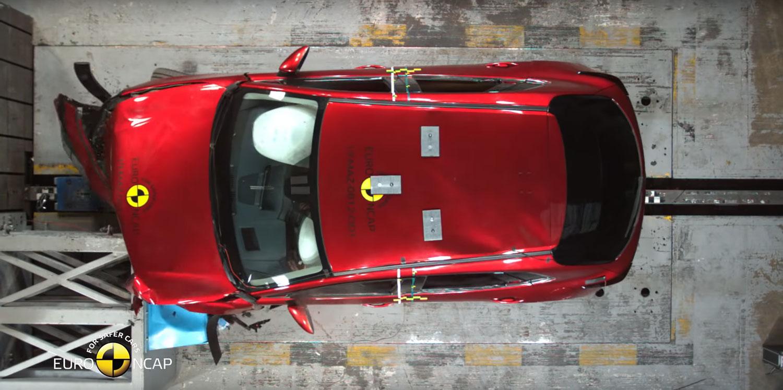 Три SUV и еден многу добар хечбек на најновиот тест за безбедност на / ФОТО+ВИДЕО