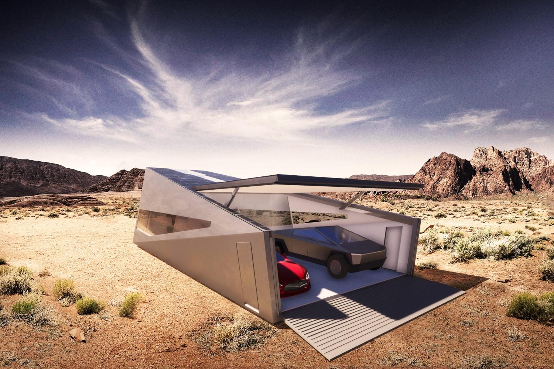 "Tesla Cybunker: вистинска гаража за вистинска ""грдосија"""