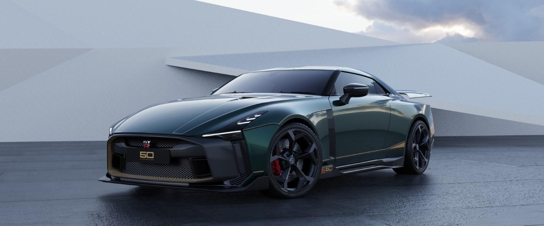 Јубилејниот Nissan GT-R50 ќе стигне само до 50 богати среќници / ФОТО