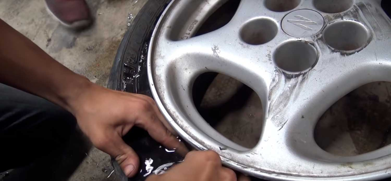Што се случува кога ќе ги наполните гумите со вода? Еве го одговорот / ВИДЕО