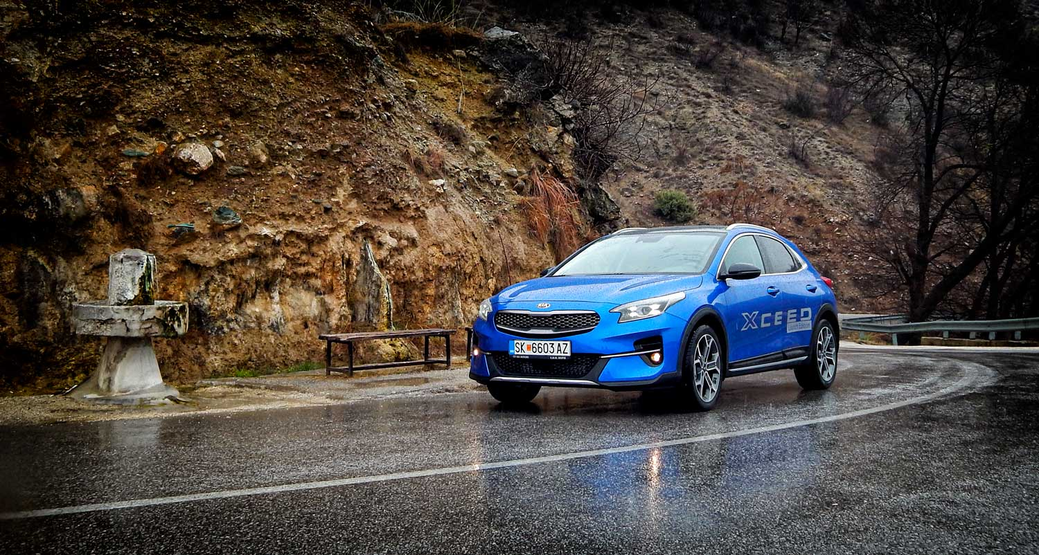 Возевме: Kia Xceed 1.4 T-GDI 140 Launch Edition