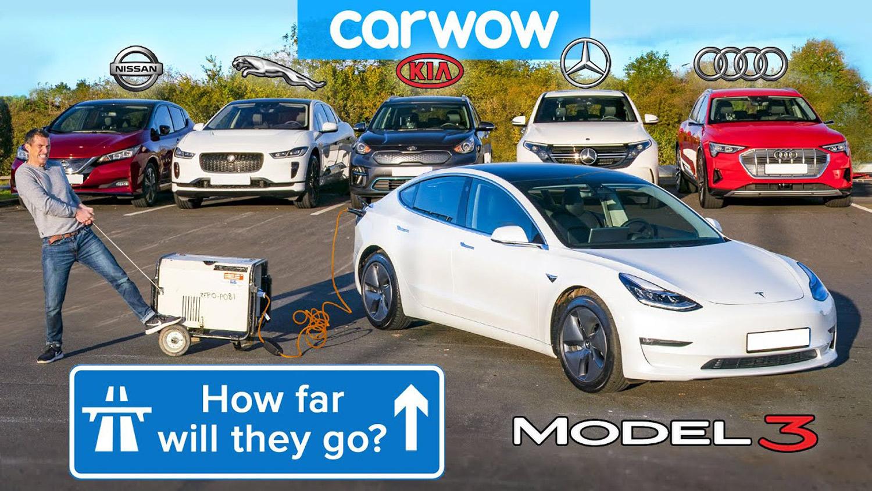 Колку е реалната автономија на електричните автомобили/ ВИДЕО