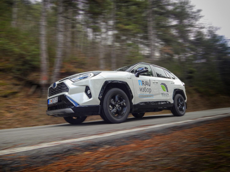 Возевме: Toyota RAV4 2.5 Hybrid