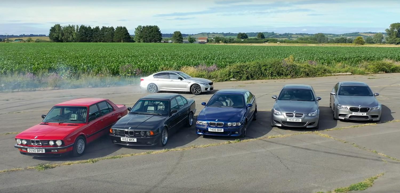 Кој BMW M5 е најдобар? / ВИДЕО