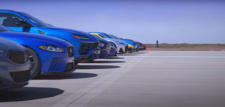 Ова е досега веројатно најголемата трка во забрзување во светот / ВИДЕО
