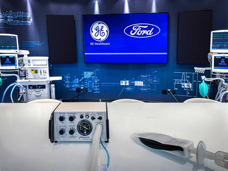 Во тек на 100 дена Ford ќе произведе 50.000 респиратори