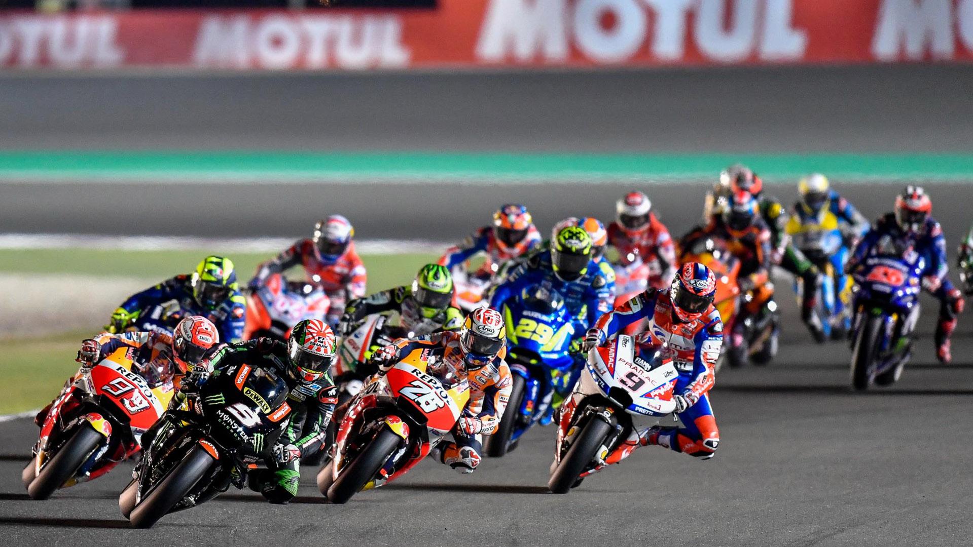 Конечно објавен и календарот на трки во MotoGP