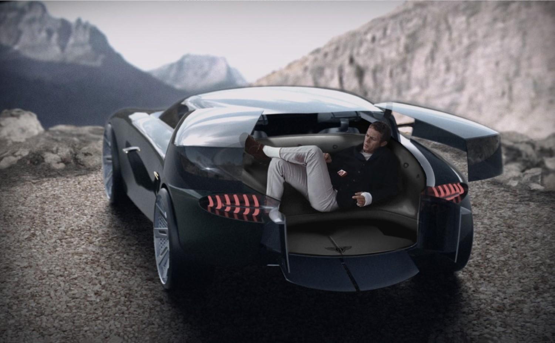 Bentley Centanne Concept, автомобил со дневна соба