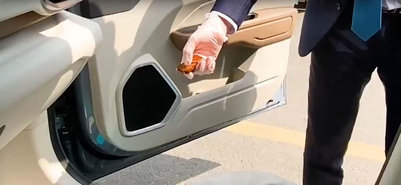Испорака на нов автомобил во време на епидемија на кинески начин / ВИДЕО
