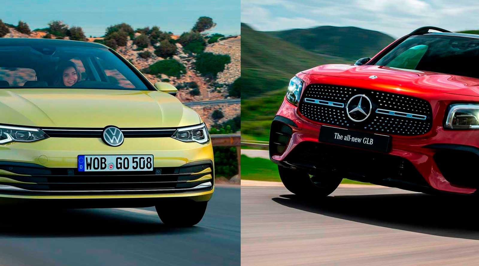 Volkswagen Golf и Mercedes GLB: Читателите избраа автомобил и SUV на годината
