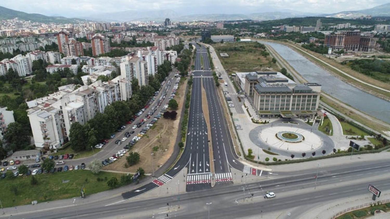 Од утре Скопјани ќе возат по новиот булевар Асном