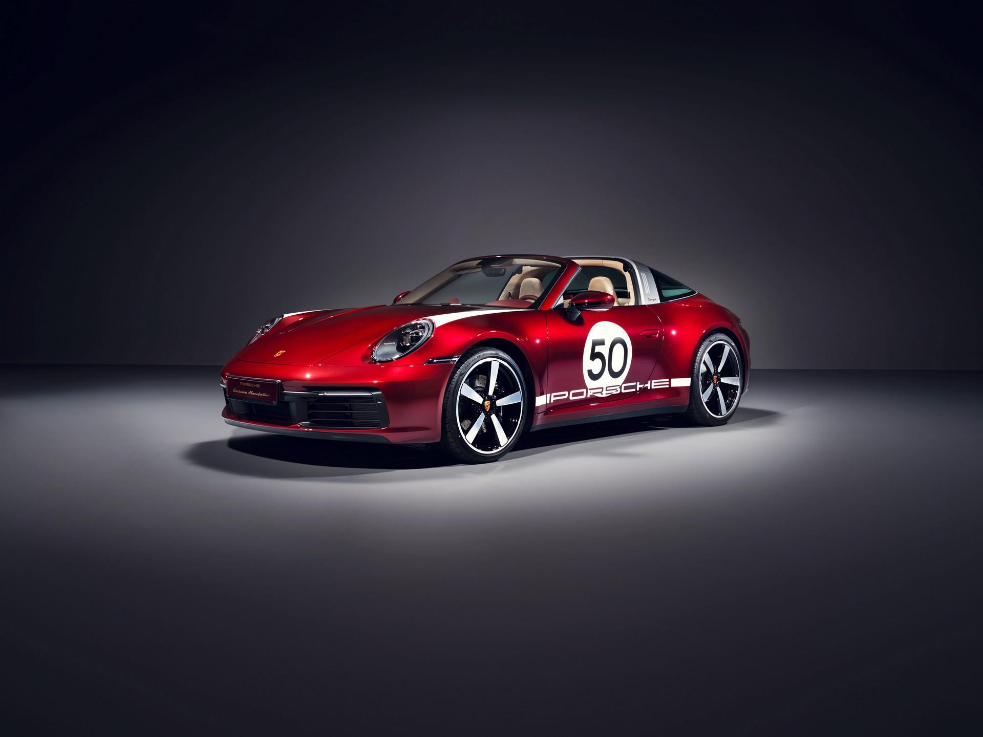 Специјално издание на Porsche 911 Targa 4S / ФОТО+ВИДЕО