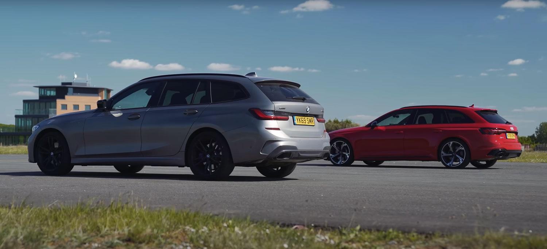 Нова одлична трка: BMW M340i vs Audi RS4 / ВИДЕО