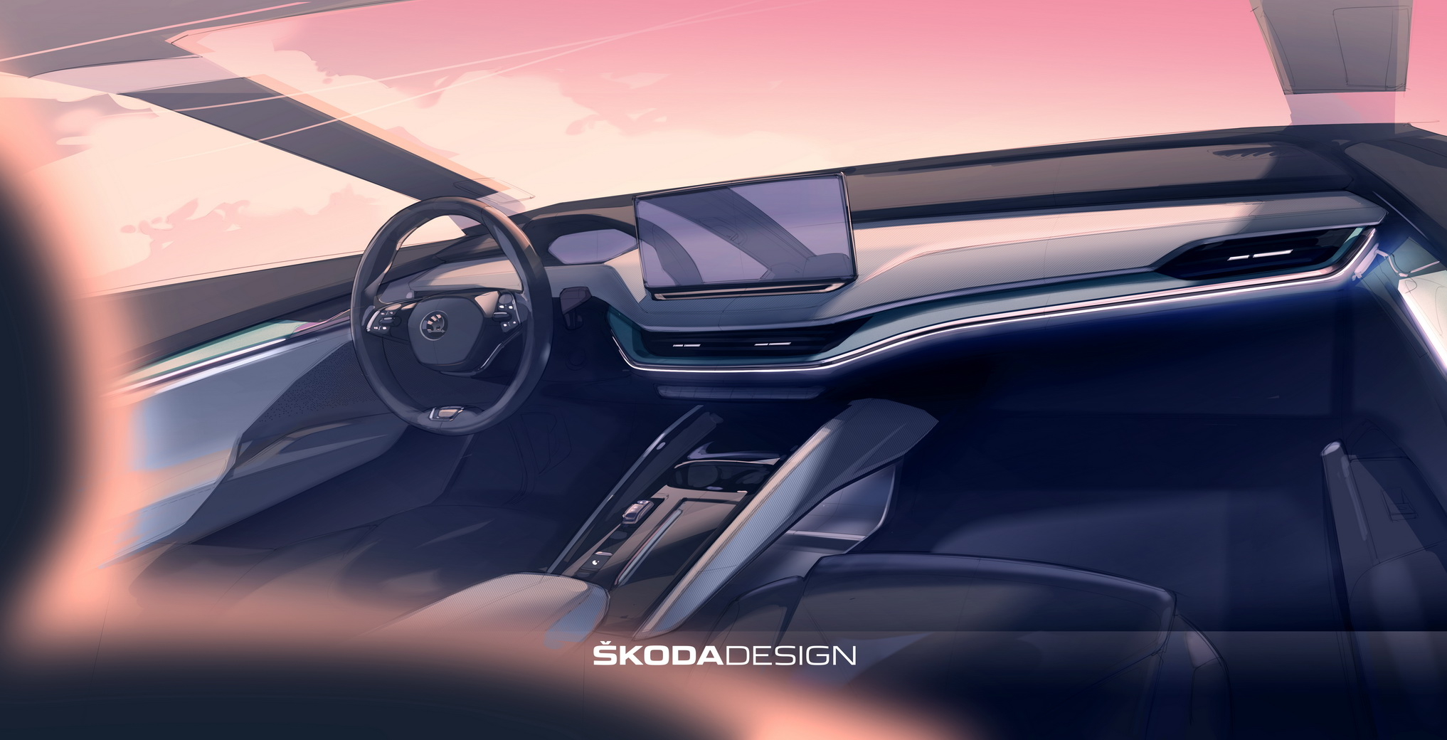 Поглед во внатрешноста на електичниот кросовер Škoda Enyaq / ФОТО+ВИДЕО