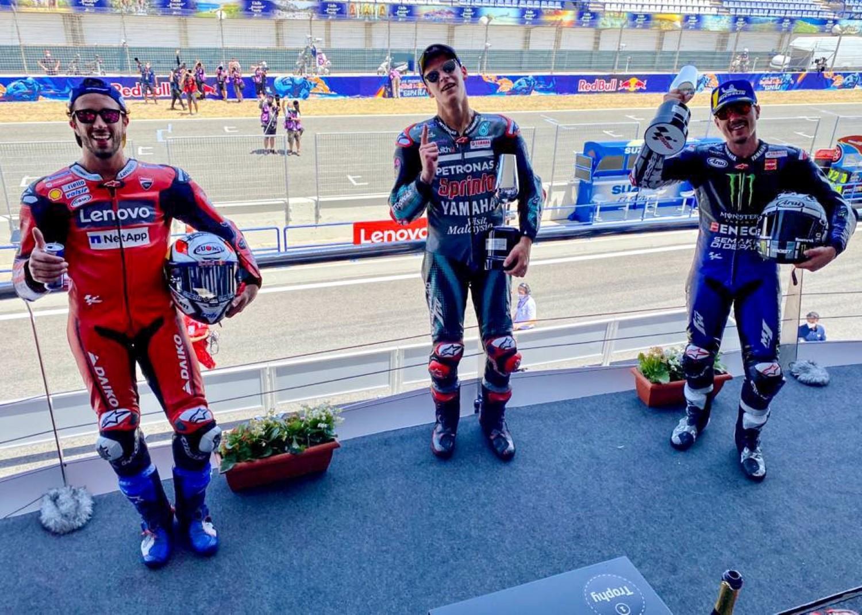 MotoGP: Квартаро славеше во Шпанија, Маркез заврши со скршеница на раката