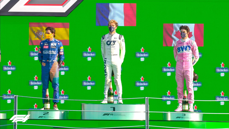 Formula 1: Пјер Гасли победник во трилерот на Монца! / ФОТО+ВИДЕО