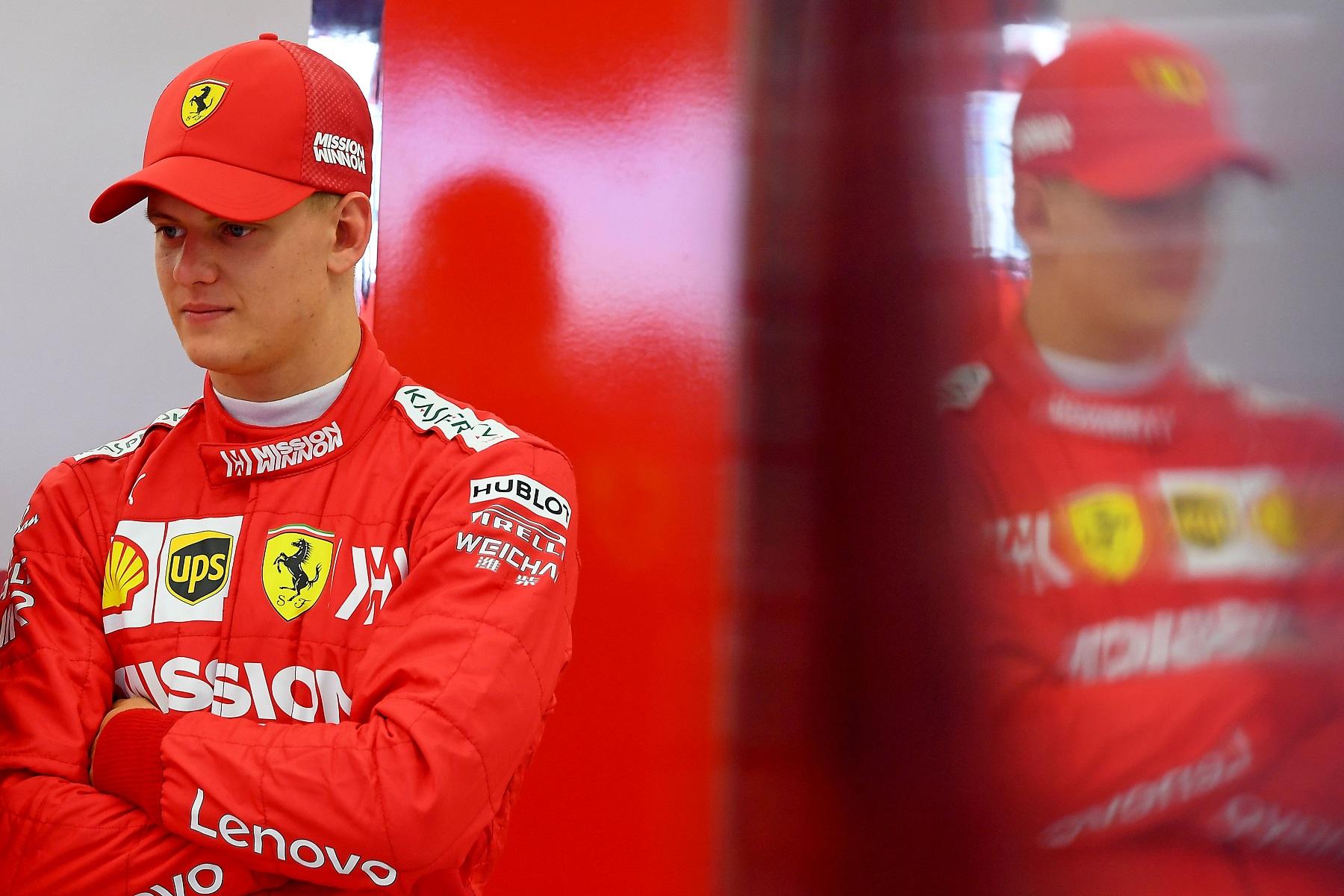 Официјалното деби во Formula 1 за Мик Шумахер на Нирбургринг