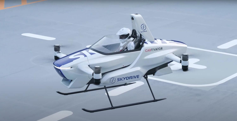 Први јавни тестови за пилотираниот летечки автомобил SD-03 / ФОТО+ВИДЕО