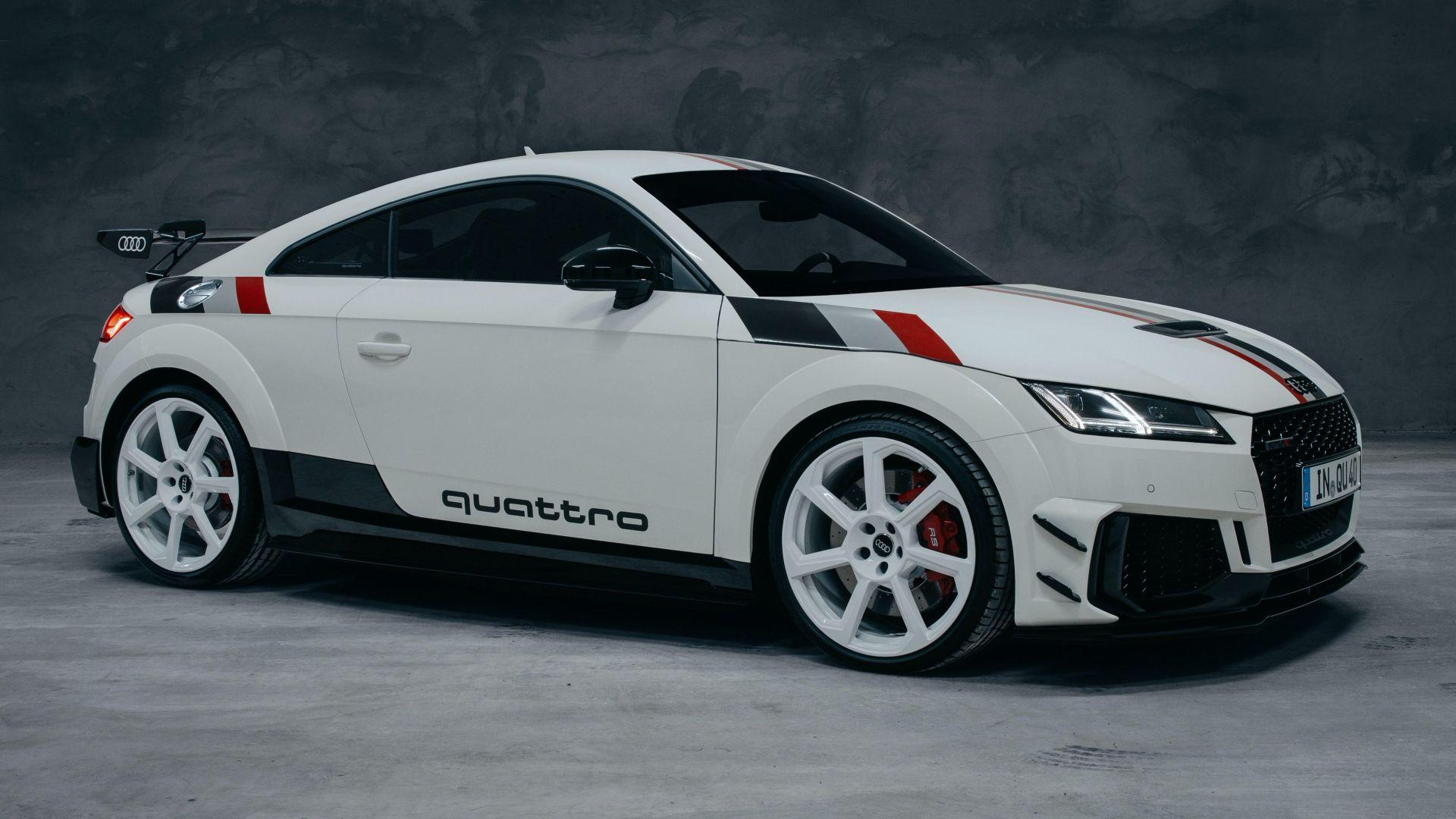 Премиера: Audi TT RS 40 Years of Quattro / ФОТО
