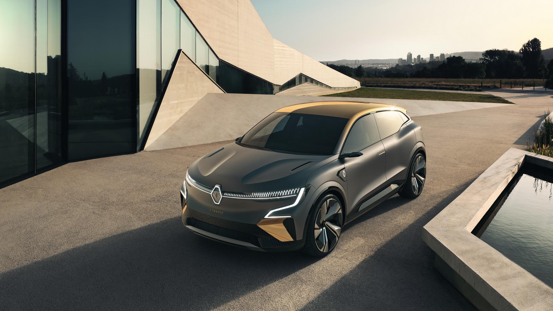 Megane eVision – најава за идните Renault EV модели / ФОТО+ВИДЕО
