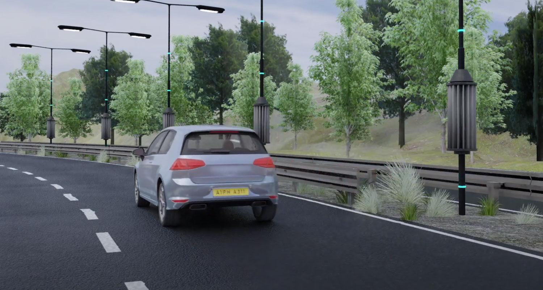 Нови проекти: Патишта со турбини на ветер, кои го користат струењето на воздухот од возилата! / ВИДЕО