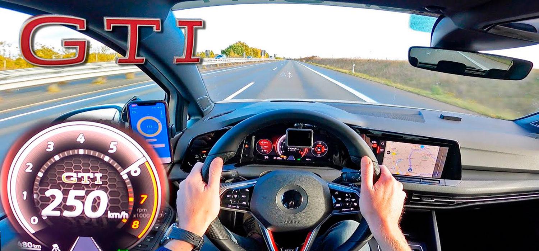 2021 VW Golf GTI MK8 на автопат [NO SPEED LIMIT] / ВИДЕО