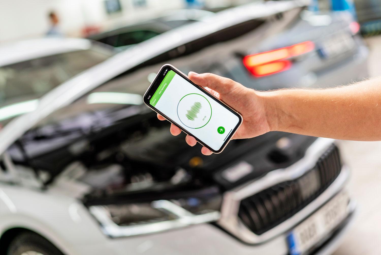 Апликација на Škoda дијагностицира грешка врз основа на звуците што ги произведува автомобилот
