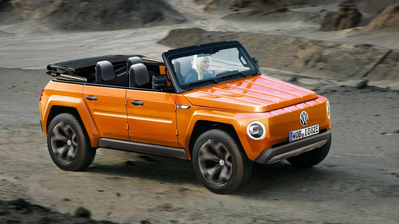 Електричен Volkswagen e-Kubel?! / ФОТО