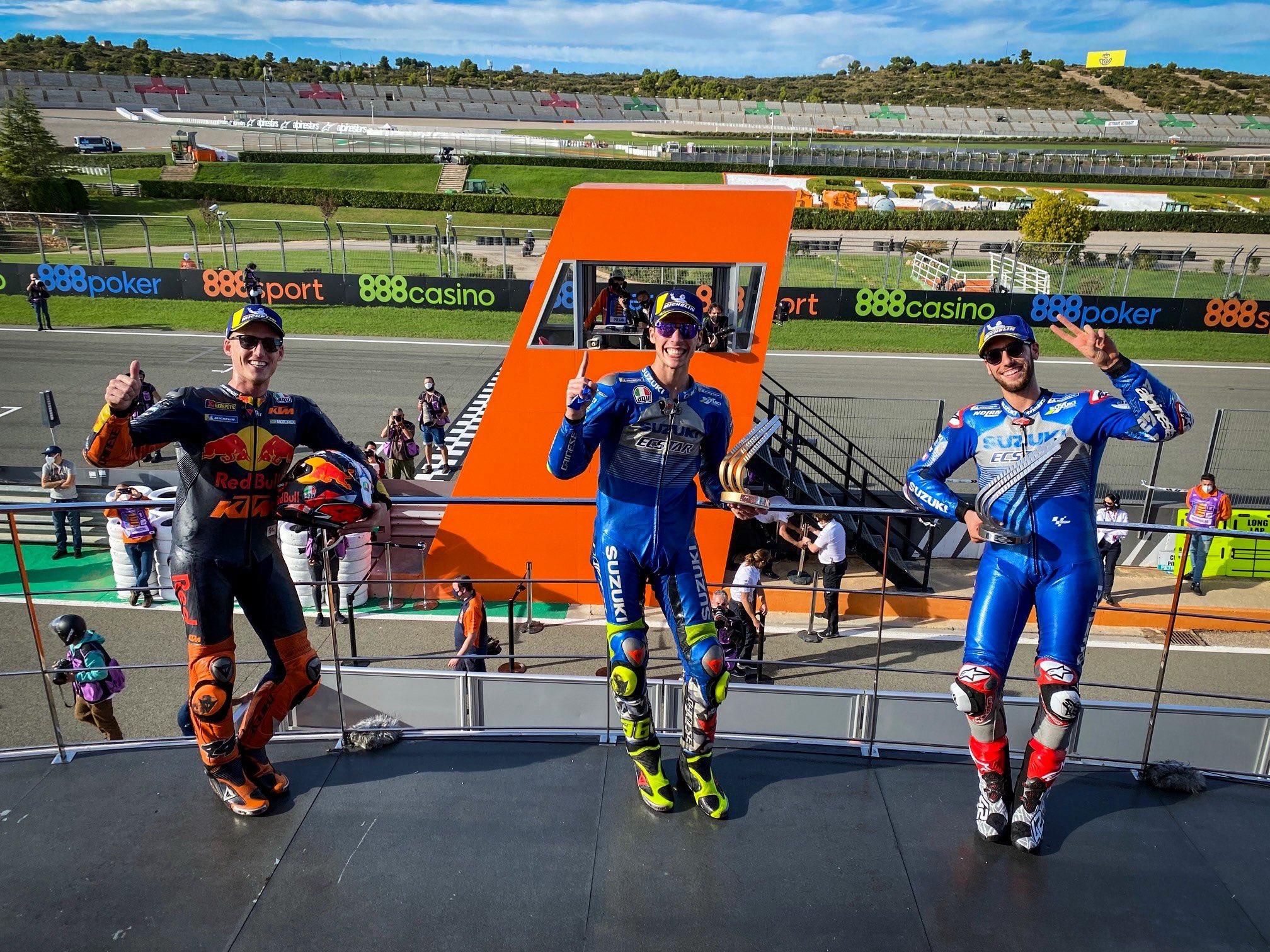 MotoGP: Голема победа на Жоан Мир на Suzuki