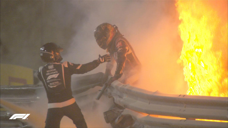 FIA започнува истрага за несреќата на Грожан / ВИДЕО