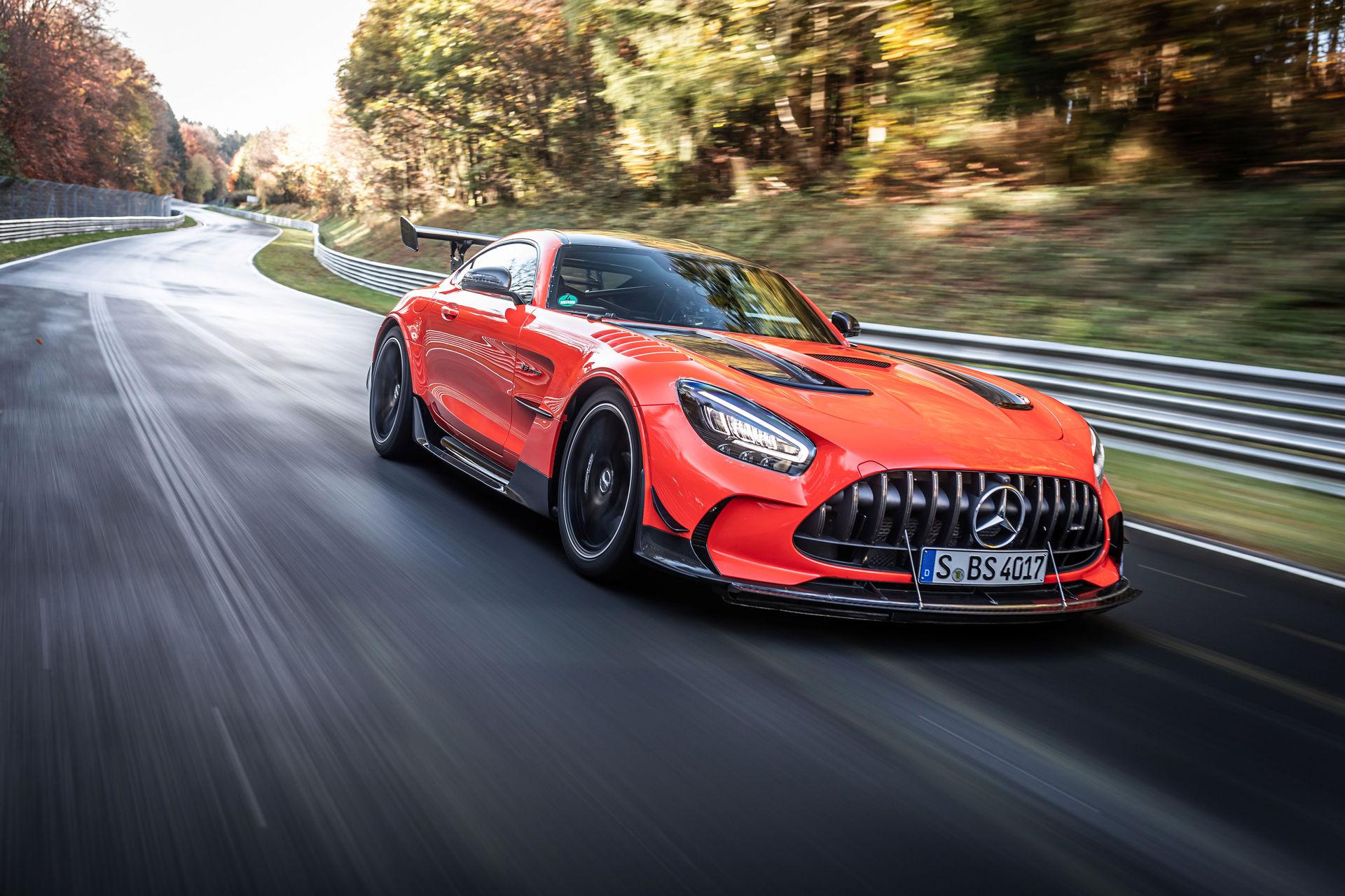 Mercedes-AMG GT Black Series е новиот рекордер на Нирбургринг! / ВИДЕО