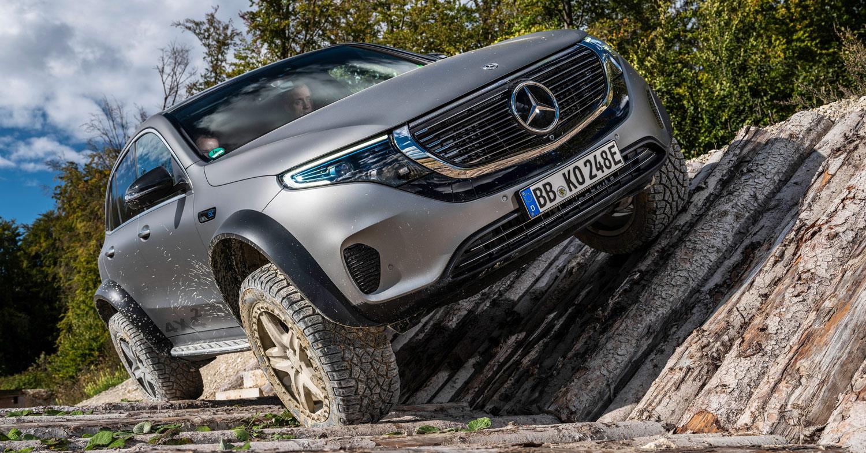Mercedes EQC 4×4² во акција / ВИДЕО