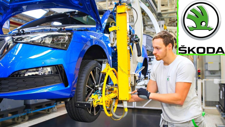 Како се произведува Škoda Octavia iV? / ВИДЕО