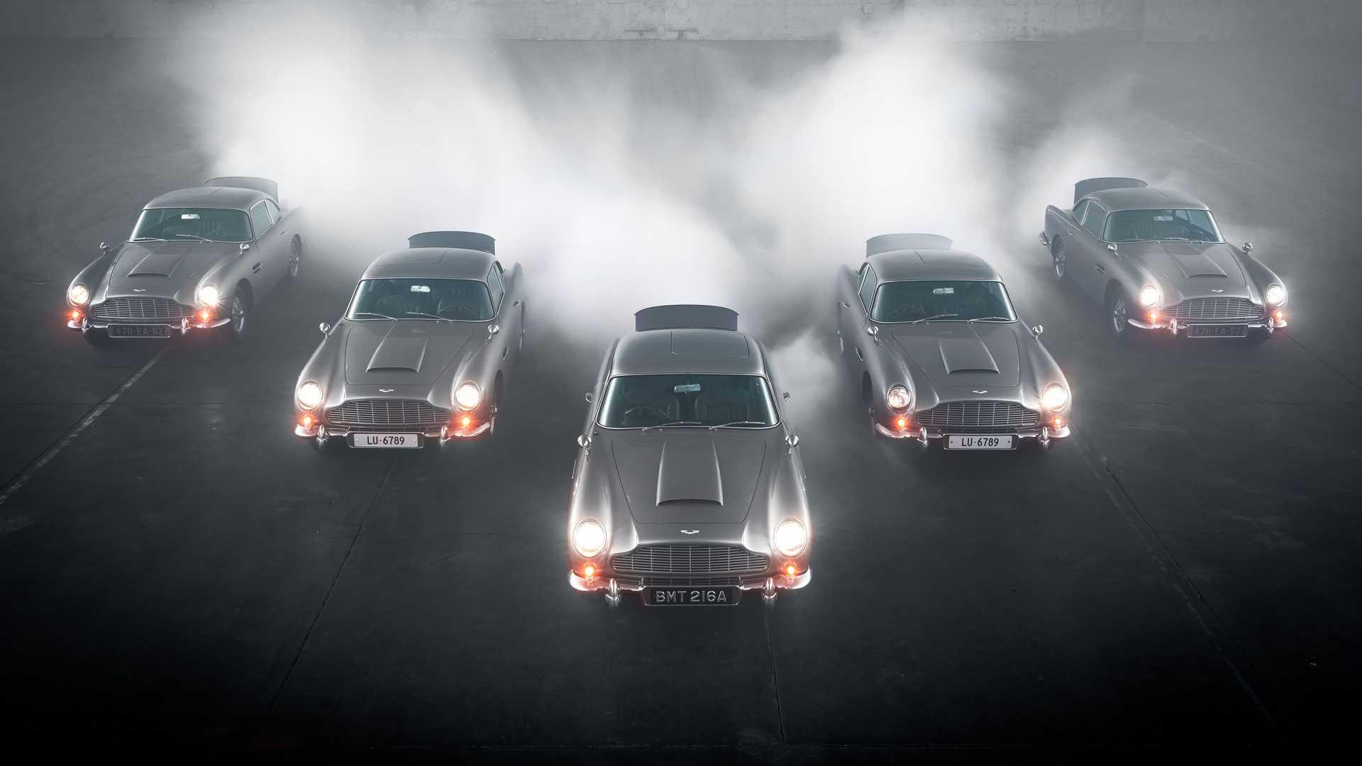 Започнаа испораките на Aston Martin DB5 Goldfinger Continuation