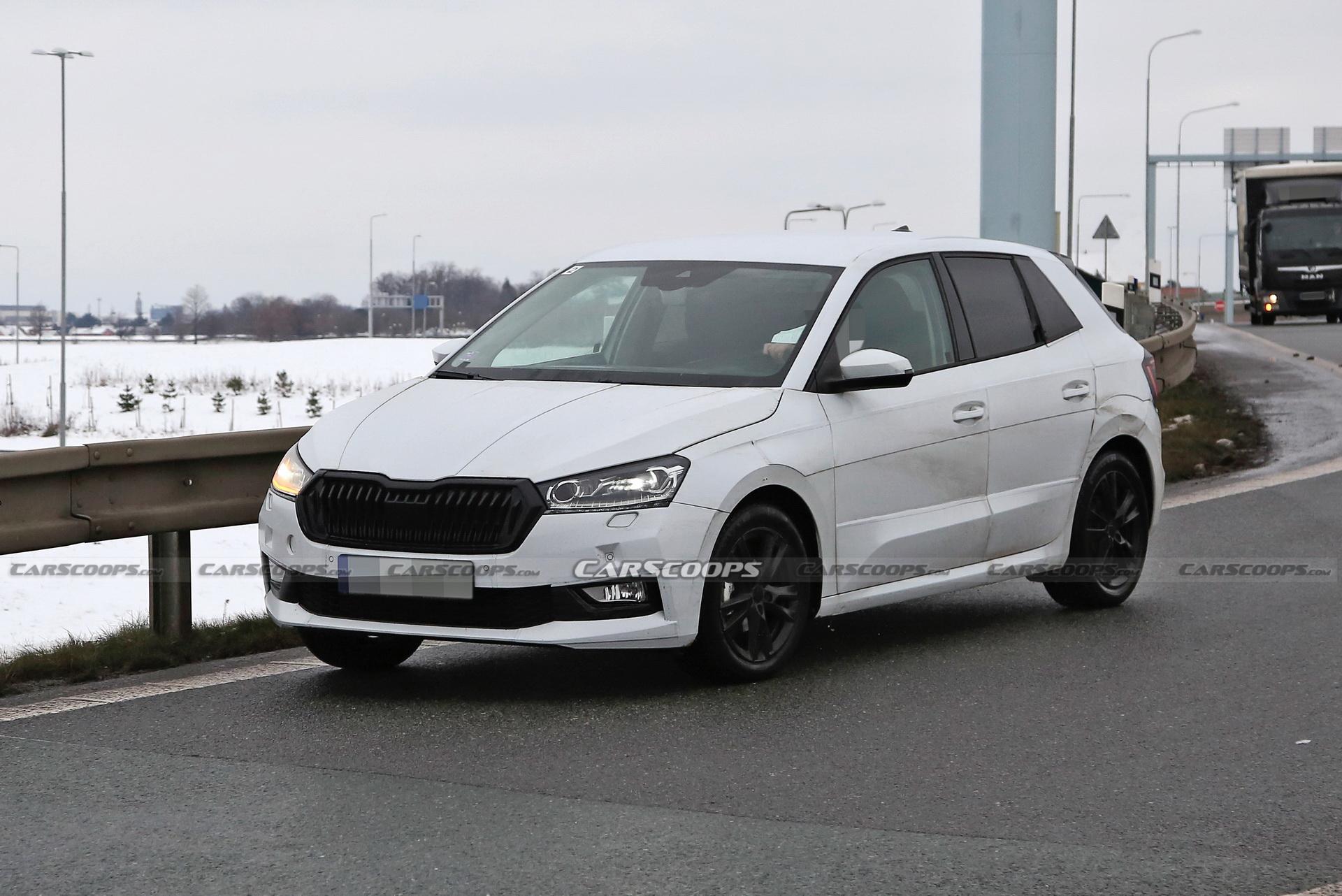 Доаѓа Škoda Fabia 4