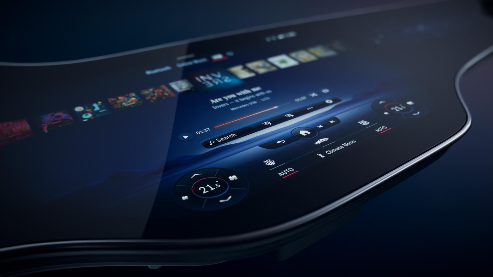 Чекор понатаму: Mercedes го претстави интелигентниот MBUX Hyperscreen / ВИДЕО