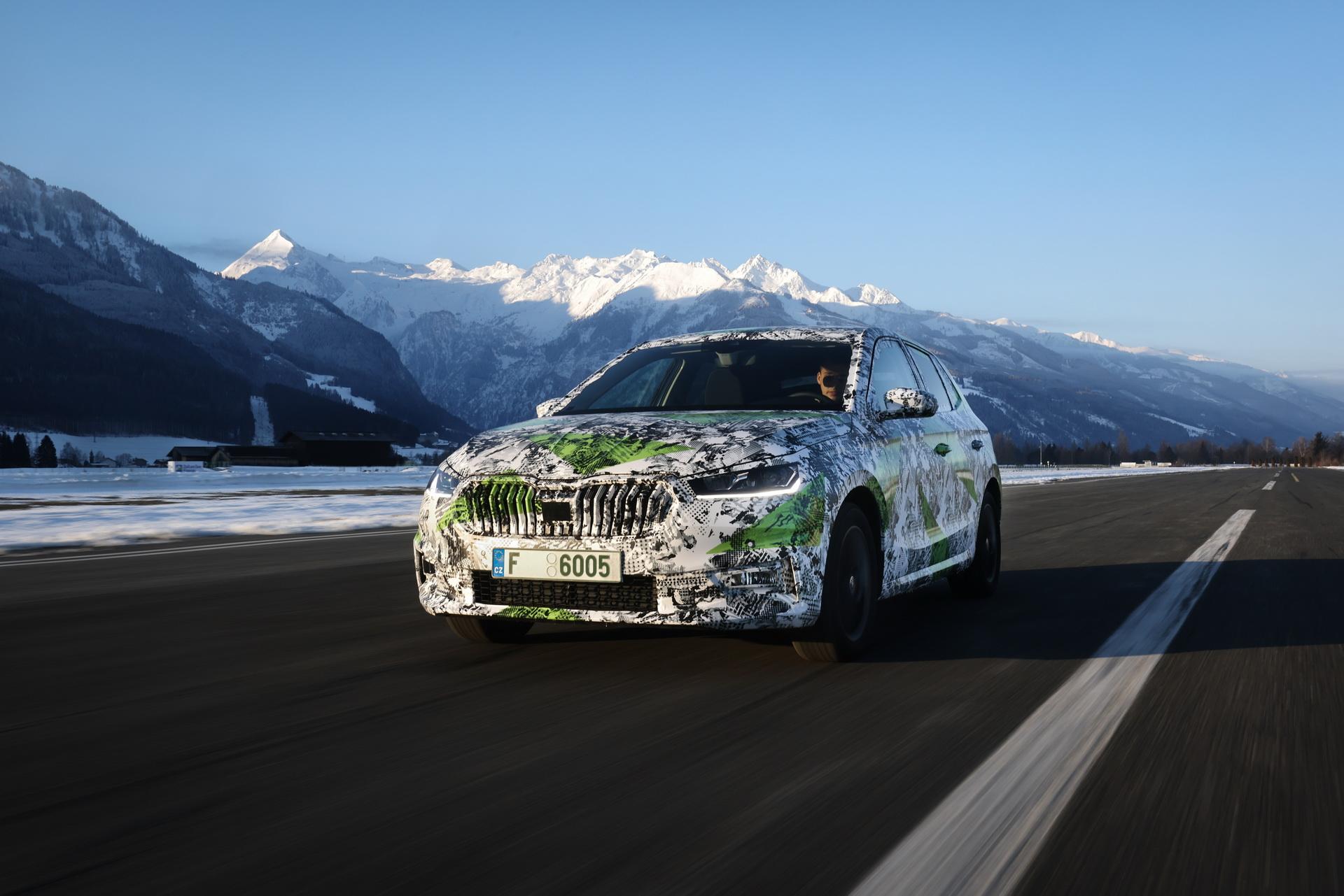 Први информации за новата Škoda Fabia / ФОТО+ВИДЕО