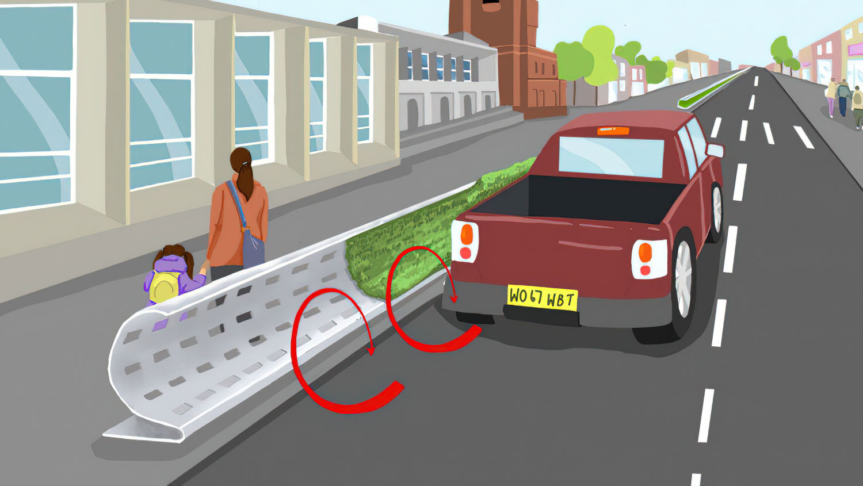 Иновативни патни огради за запирање на бучавата и загадувањето на воздухот!