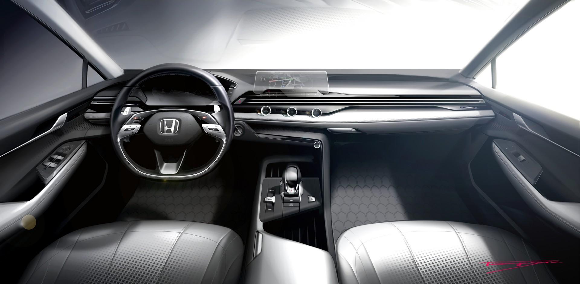 Honda овозможи увид во својата нова дизајнерска филозофија за ентериерот / ВИДЕО