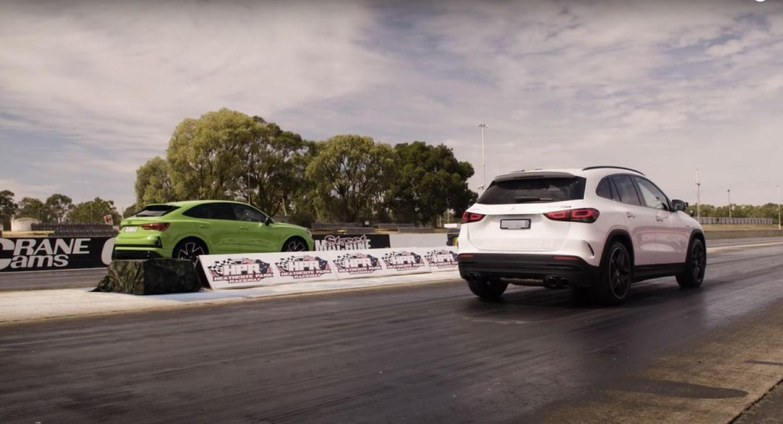 Дуел за тронот кај премиум компактните теренци: Audi Q3 RS VS Mercedes-AMG GLA 45 S / ВИДЕО
