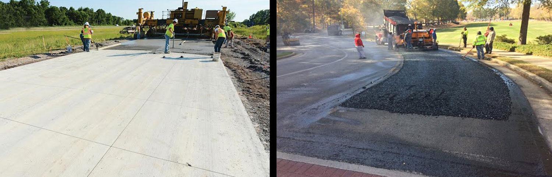 Бетонски или асфалтни патишта: Што е подобро и побезбедно?