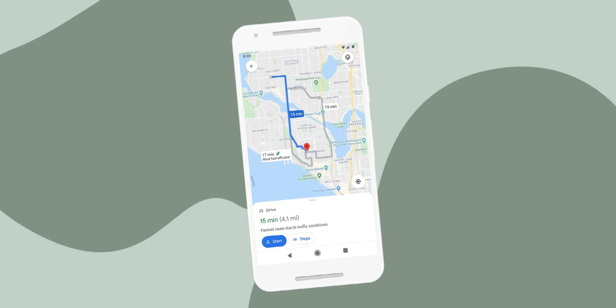 Google Maps ги менува навиките – до целта по еколошки пат