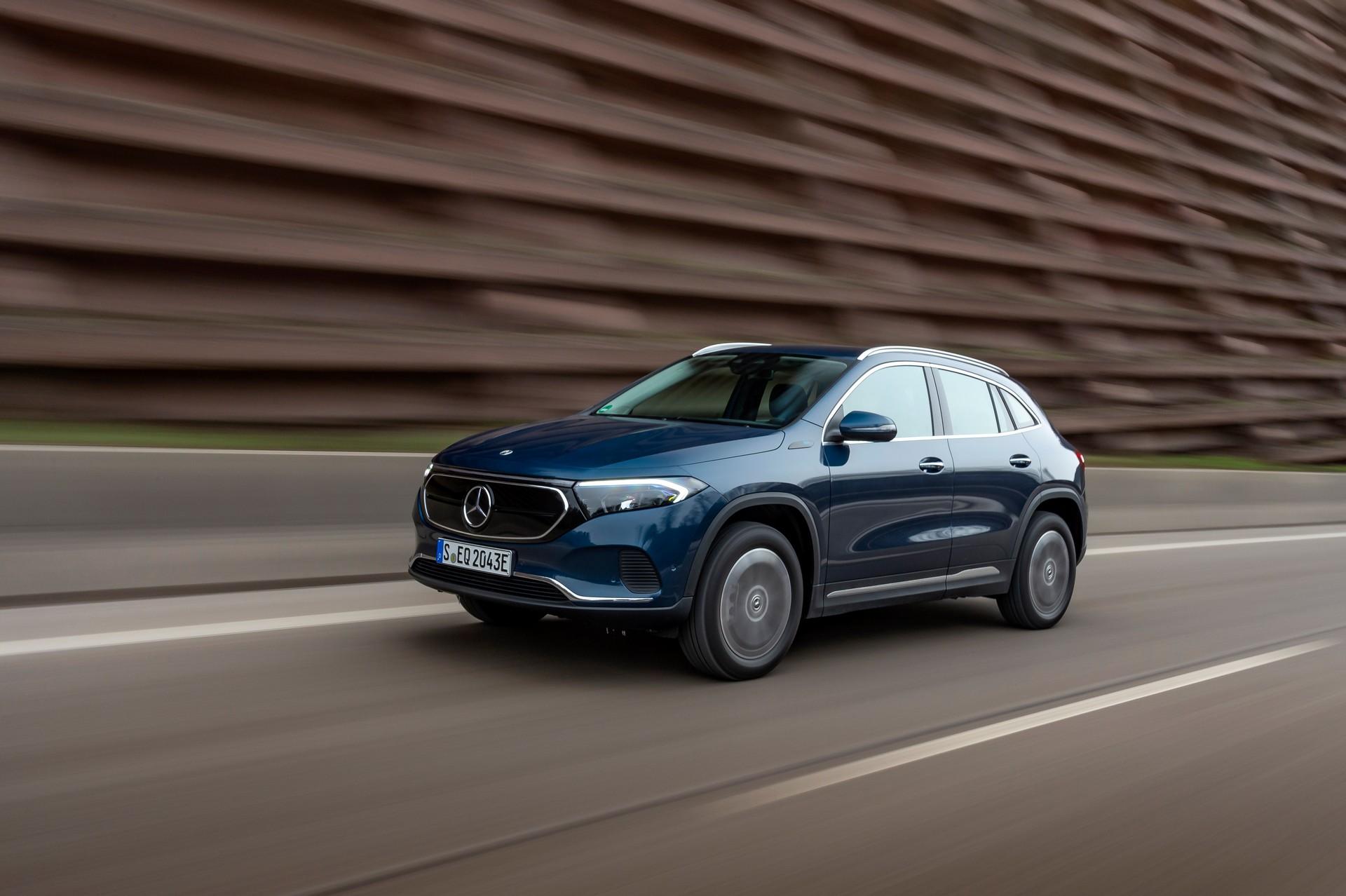 Проширување на понудата за Mercedes EQA со 4х4 верзии