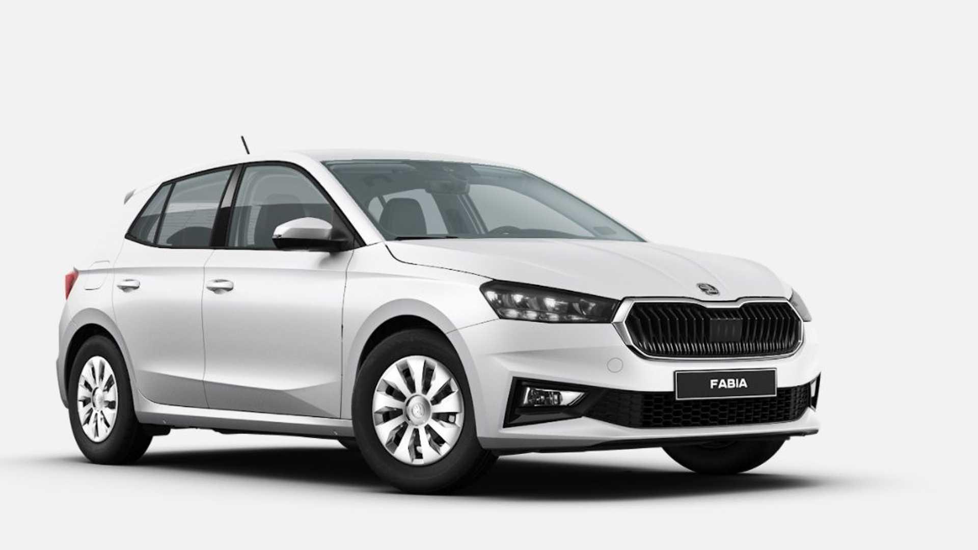 Вака ќе изгледа базната Škoda Fabia