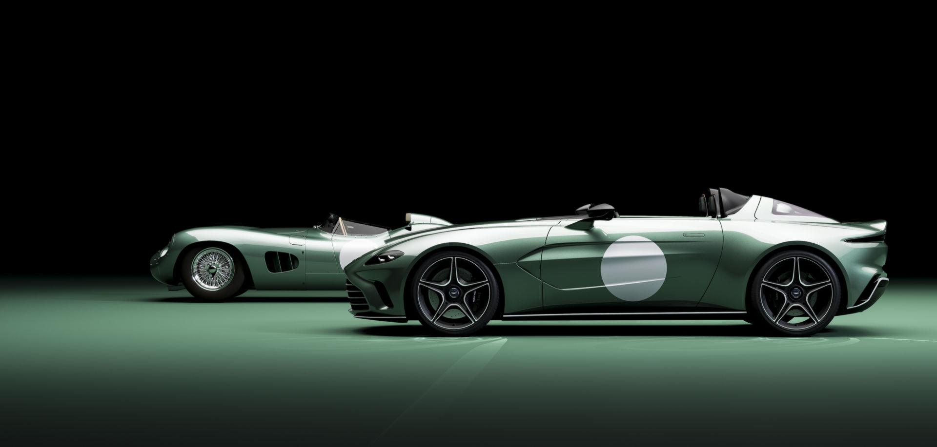 Во чест на легендарниот победник: Aston Martin V12 Speedster во DBR1 издание