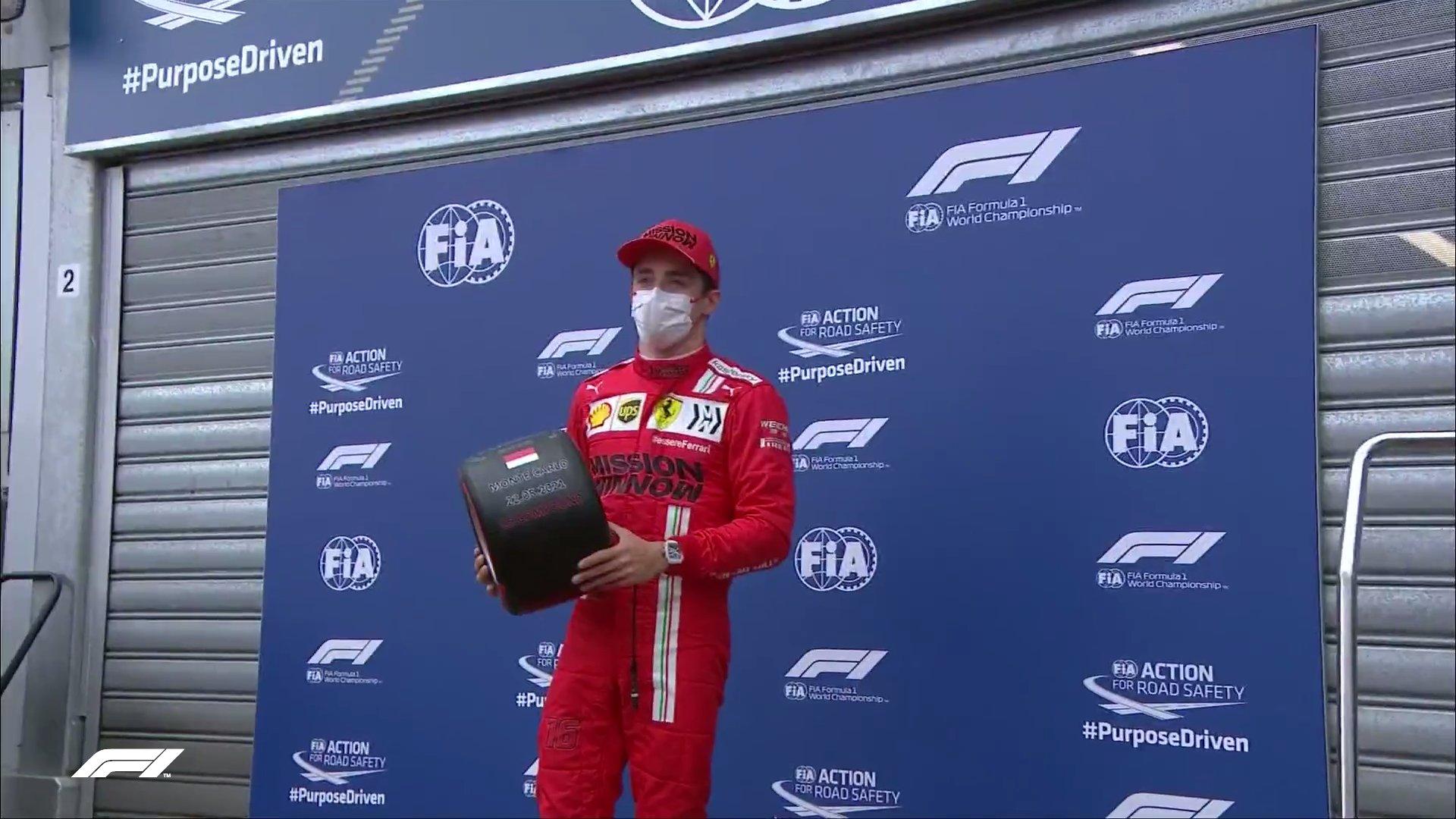 Formula 1 Monaco GP: Леклерк ја донесе првата пол позиција за Ferrari од 2019 година / ВИДЕО