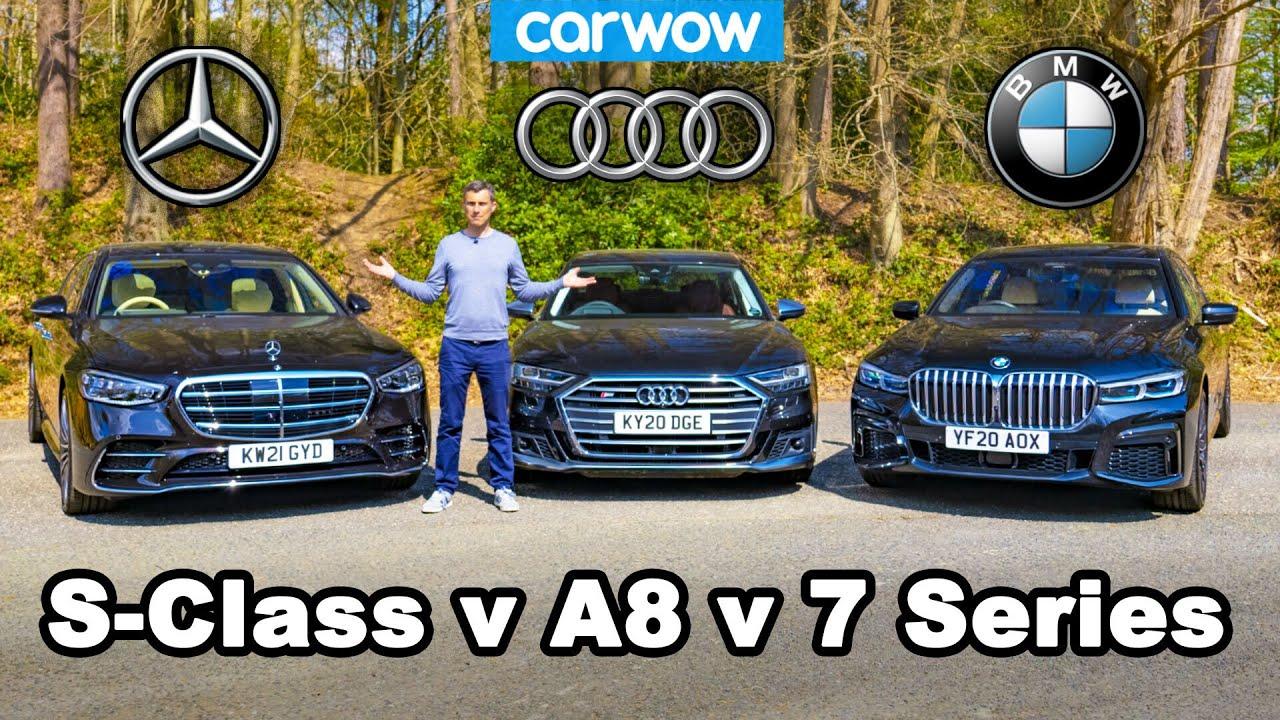 Audi, BMW или Mercedes – кој е подобар? Одговорот се обидува да го даде екипата на Carwow / ВИДЕО